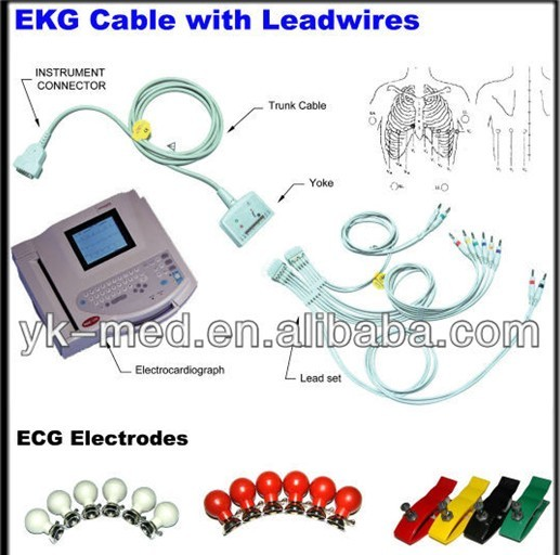 Lowest Price Multi-function Limb Clamp ECG Electrodes, CE&ISO13485 proved Manufacturer