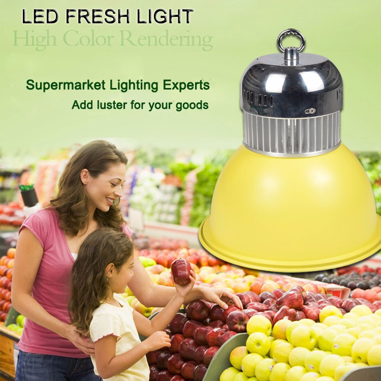 Modern Supermarket Fresh Meat Fish Vegetable Fruit bread 30w 50w 60w Fresh Light