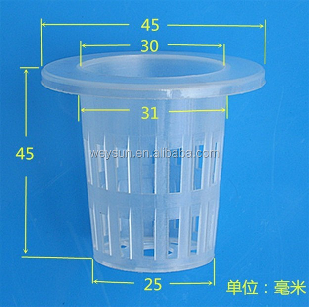Soilless cultivation out-planting basket hydroponic water out-planting basket cup