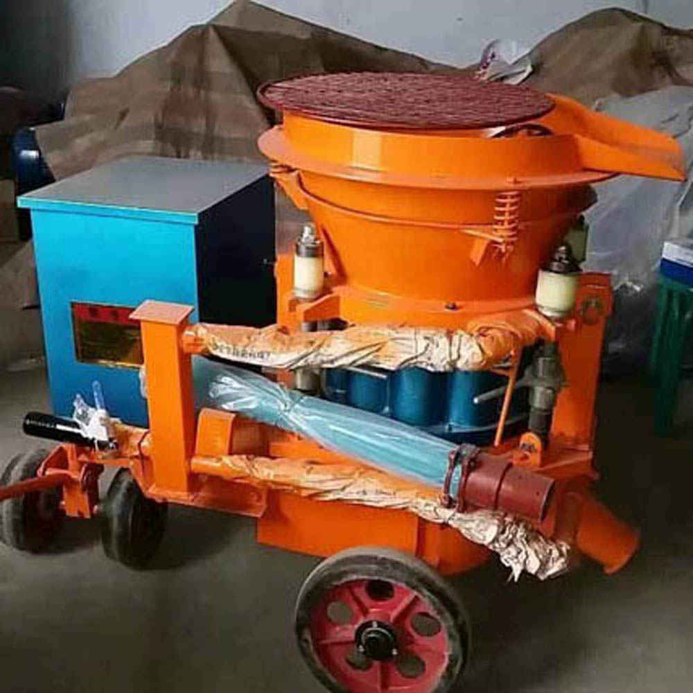 Explosion Proof Portable Pneumatic Dry Shotcrete Machine