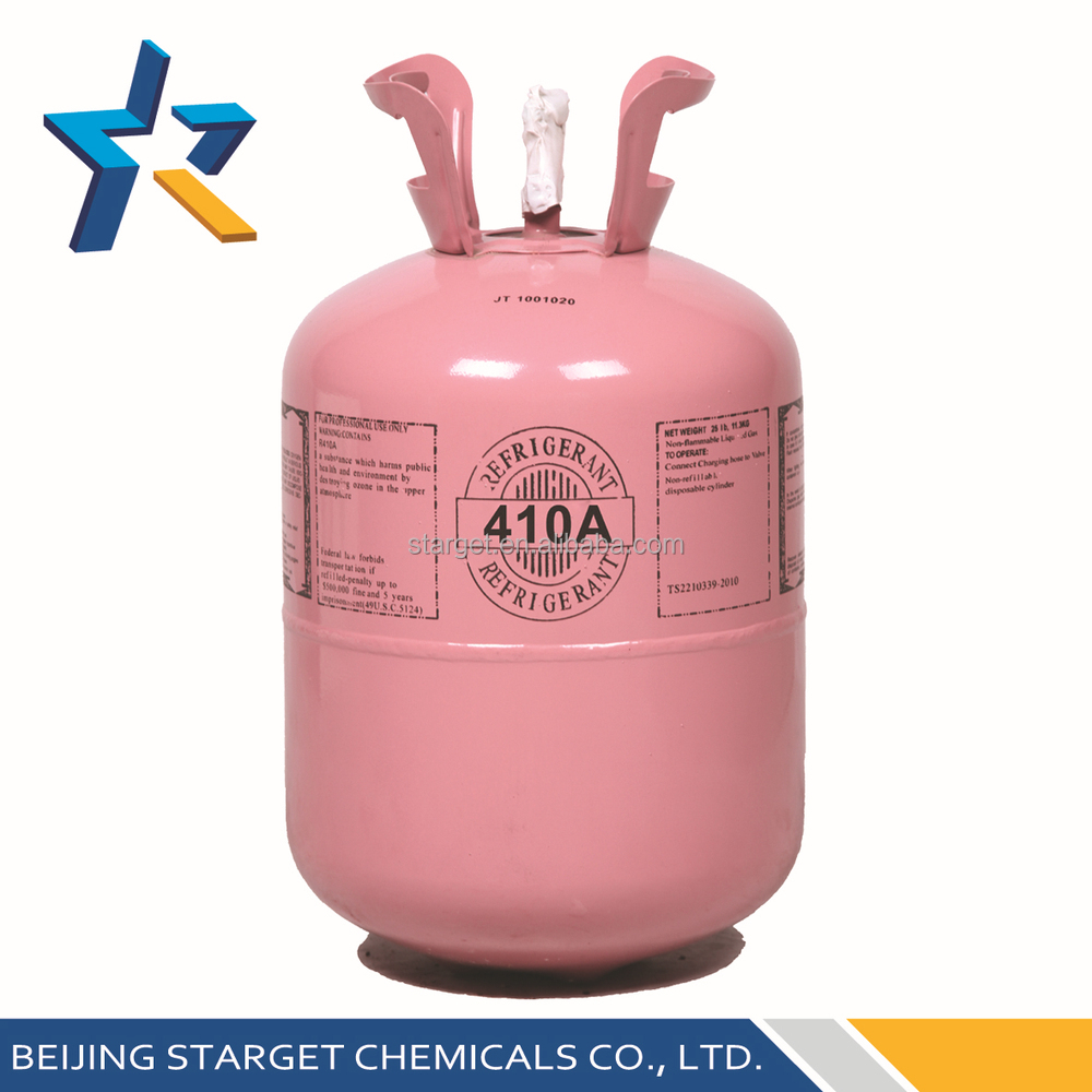 99.9% High Purity R410a Refrigerant Gas Competitive Price