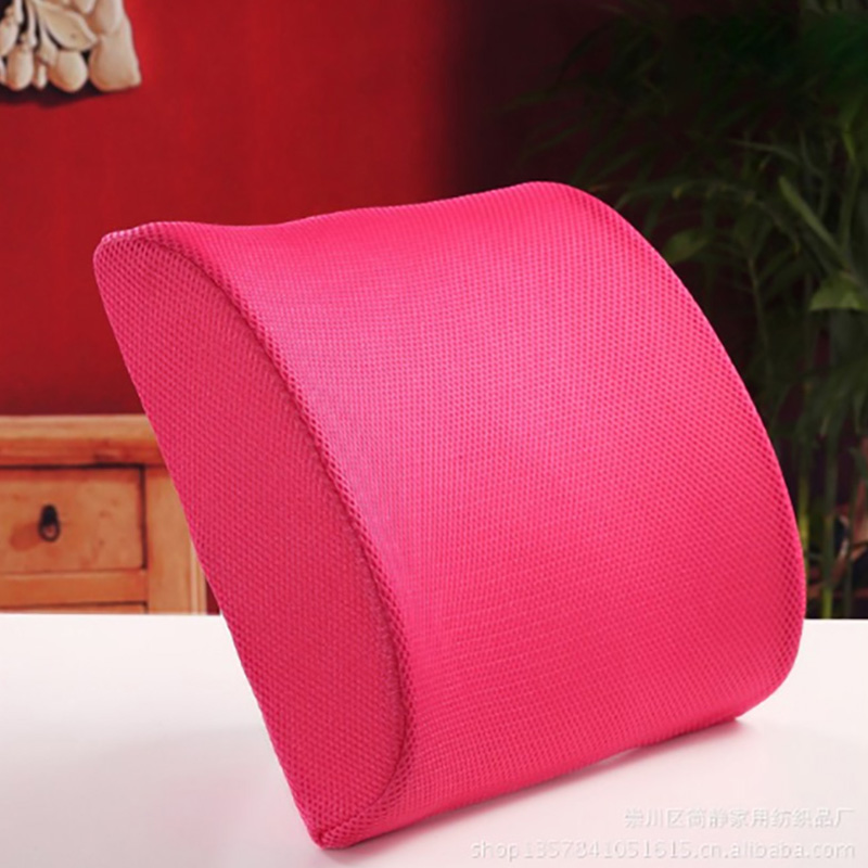 Lumbar Support Back Cushion Office Chair and Car Seat Memory Foam