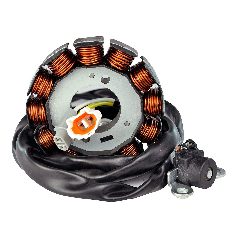 High Output Stator For Yamaha YFZ 450 2004-2009 2012-2013 OEM Repl.# 5TG-81410-00-00 5TG-81410-01-00 5TG-81410-02-00 5TG-81410-03-00 5TG-81410-10