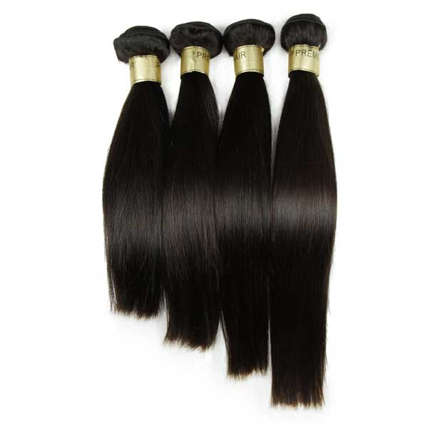 XBL <strong>Natural</strong> Looking Straight Indian Human Hair Extensions for Braiding