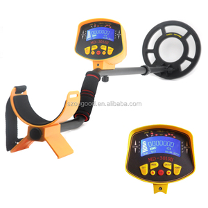 High Quality ground metal detector md 3010II in sale, Treasure hunter detector metales gold locator for hobby