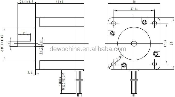 Nema 24 Stepper Motor High Accuracy 1.8degree Stepping Motor - Buy Nema Stepper Motor Wiring Diagram on