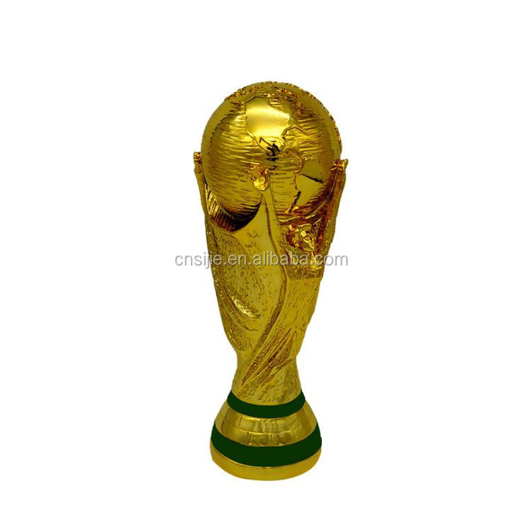Custom your own resin football word cup trophy for winner