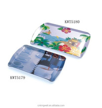Food safety 100% cheaper printing melamine tray