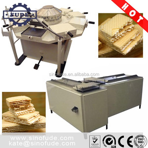 BWH20 small wafer biscuit production line / semi-automatic wafer machine
