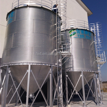 cement indoor silo foundation