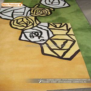 New hand tufted modern design 3d carpet