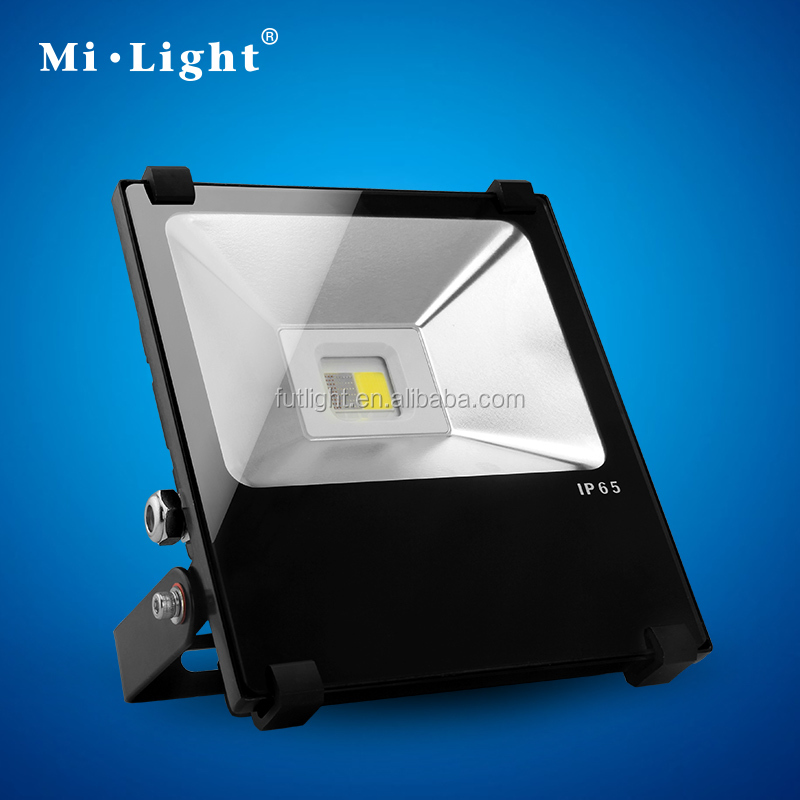 Milight smart home 2.4G RF wireless remote&app controlled landscape lighting outdoor led floodlight35W RGB flood light