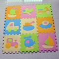 9pcs Children s Crawling Traffic EVA Foam Carpet Baby Educational Rug Puzzle Playmat Floor Play Mats