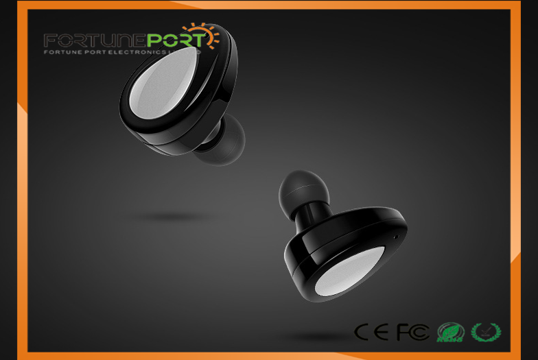 Corporate Gifts Bluetooth Wireless Earbuds With Power Charging Case Mini Style Earphone