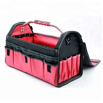 Hot selling and cheap professional heavy-duty garden tool bags with tubular handle