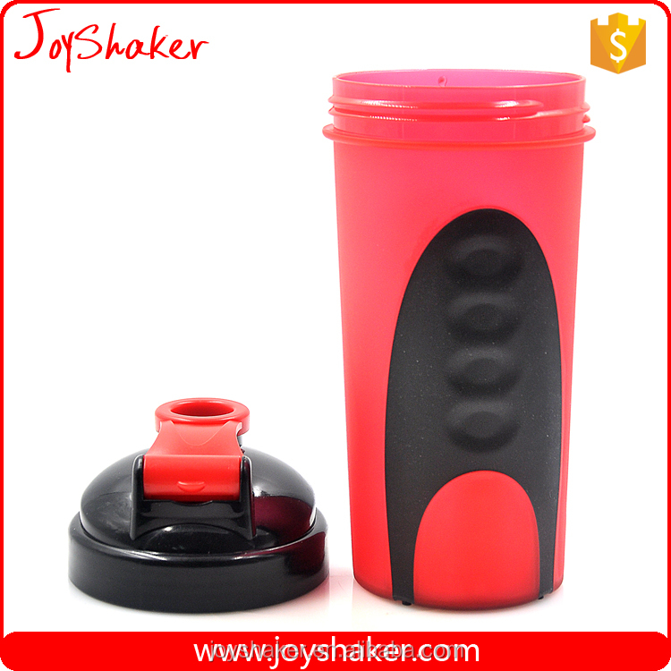 Amazon Hot Product 600ml Unbreakable Shaker Bottle, Sport protein FDA Shaker Cup With Mixer Ball
