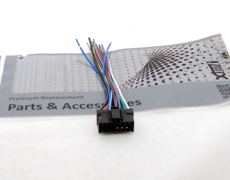 Blaupunkt Wire Harness Power Plug CD MP3 DVD Car Stereo Head Unit 16-pin