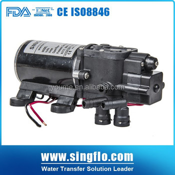 Singflo FLO-3203 12v 65psi 6L pump/6LPM electric water pump for water heater