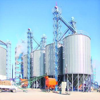 Wheat Bran Storage Used Galvanized Steel Silo Price