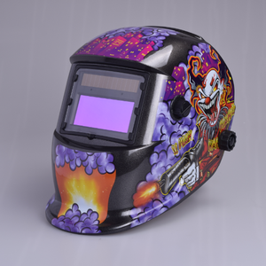 Export-oriented custom batman auto darkening welding helmet