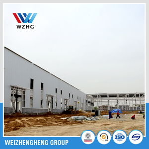 long span steel structure factory and construction design steel structure warehouse