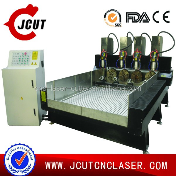 China high quality and good price CNC router multi-head stone engraving/cutting machine JCUT-1325-4