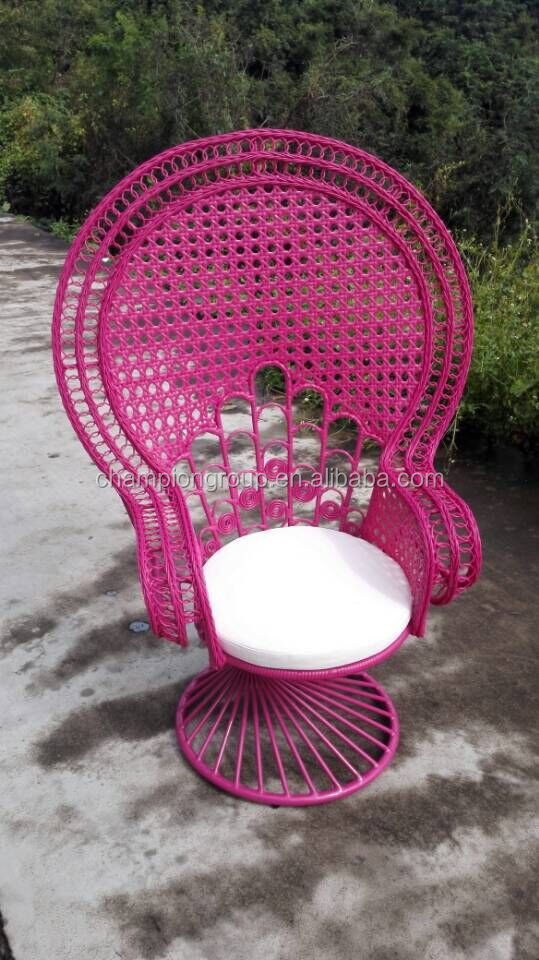 Outdoor Pfau Weben Rattan Stuhl Buy Outdoor Pfau Stuhl Aluminium