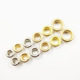 High quality cheap metal ring 8mm eyelet for shoes garment