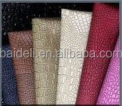 pvc leather crocodile leather for bag luggage case