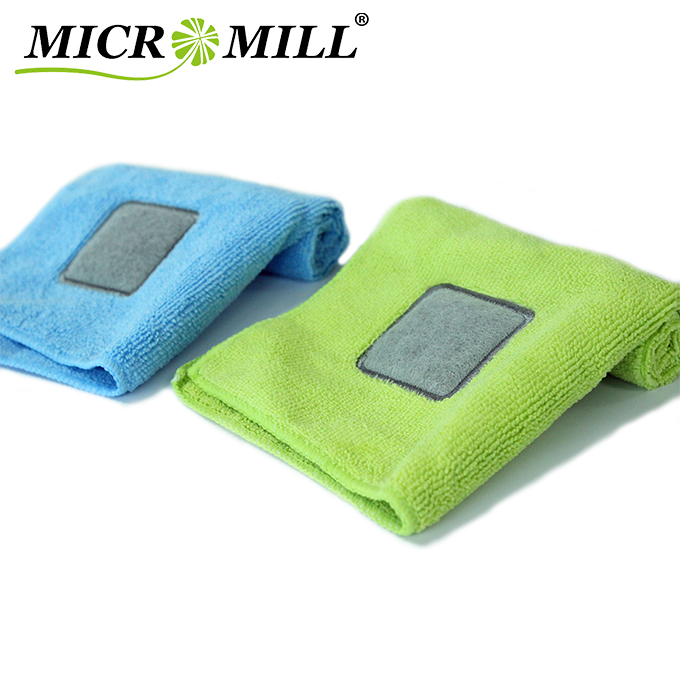 Cleaning cloth microfiber for kitchen, streak-free microfiber washing cloth, heavy duty