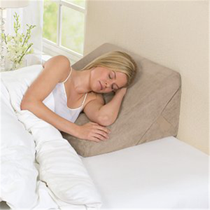 Multi-use support Triangle Wedge Bed Rest Pillow Bed Wedge Pillow