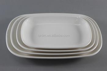 4pcs Melamine Oval plate  white fish plate & 4pcs Melamine Oval PlateWhite Fish Plate - Buy 4pcs Melamine Oval ...