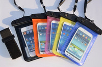 PVC Waterproof Diving Bag For Mobile Phones Underwater Pouch Case For iphone