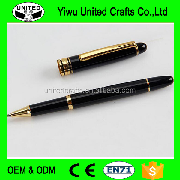 metal ballpoint pen with logo customized stainless steel pen