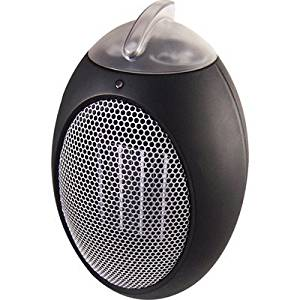 Personal Space Heater 50 Watt Durable, Efficient, Ergonomic, Portable Electric Fan Compact Heater with Adjustable Thermostat by Cozy Products
