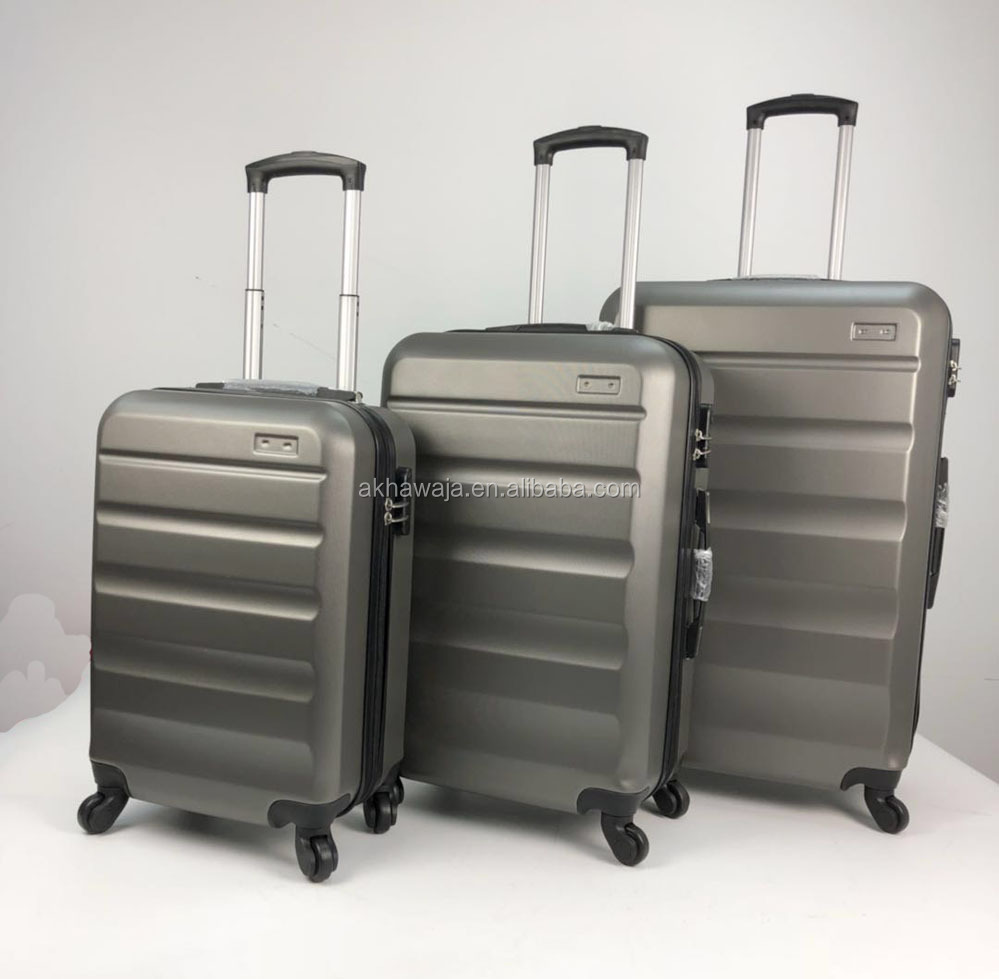 4 wheels ABS travel luggage bag,trolley luggage,suitcase