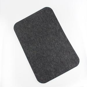 Logo Customized polyester felt placemat table mat