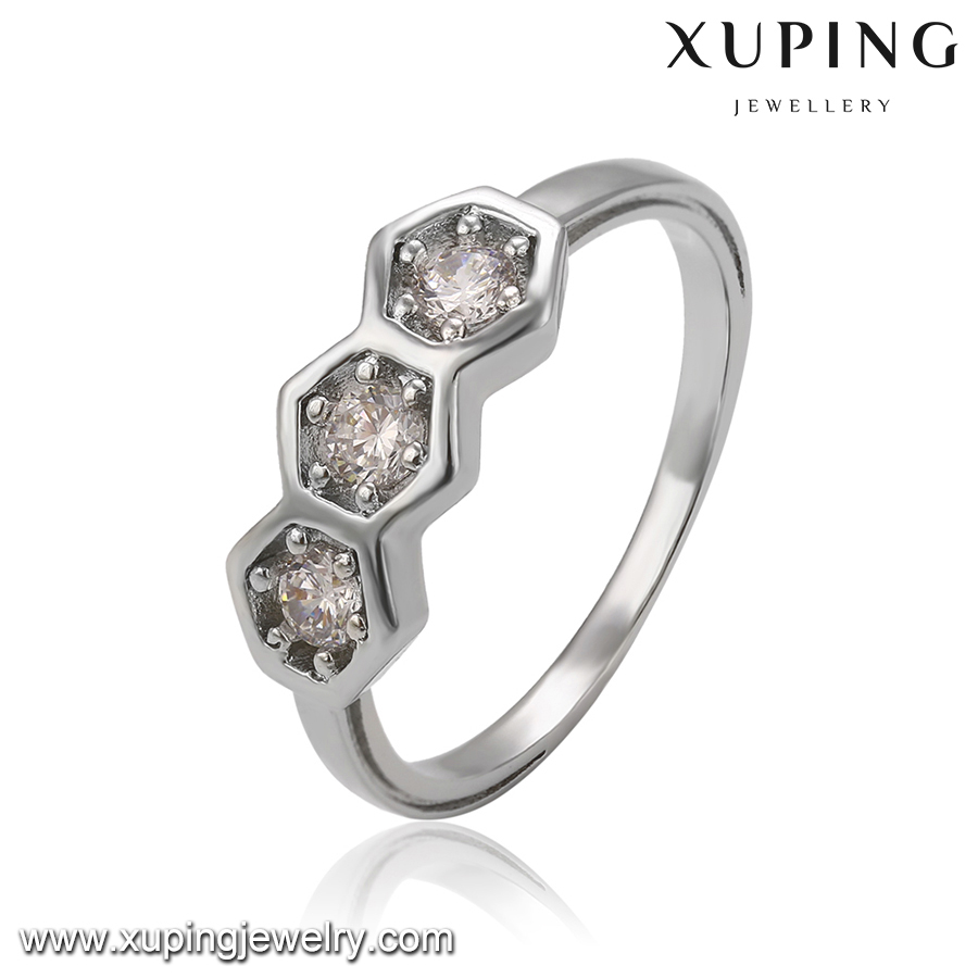 14280 Xuping latest design ladies rings,jewel,new design ladies finger ring