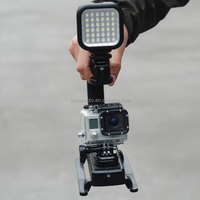 Stabilizing Handle with Portable Mini LED Light for GoPro Hero 3, Gopro handle