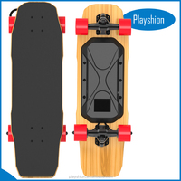 Water proof 400W hub wheels motor Remote Control Electric Skateboard cruiser