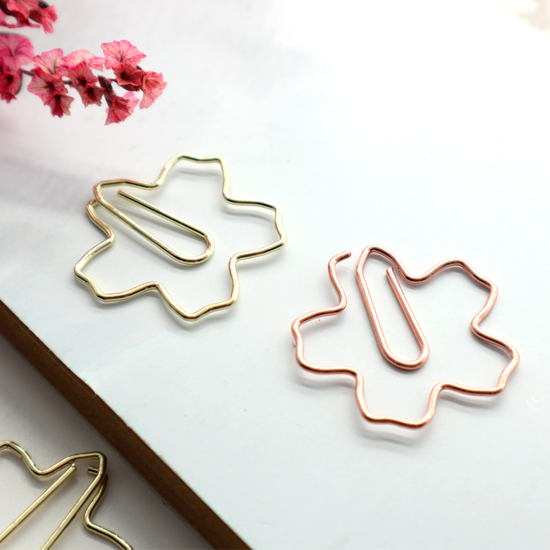 Gift mini envelop custom made dark rose gold briefpapier producten paperclip
