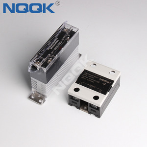 AC or DC 10A 20A 40A led single phase slim solid state relay ssr with heat sink