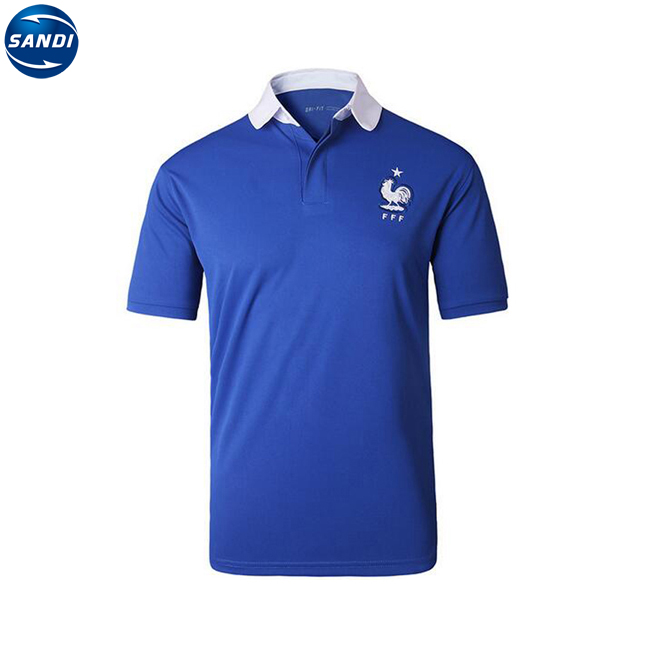 Promotional custom sports t-shirt polo with logo