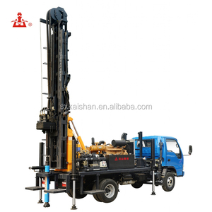 KW20 Water borehole deep well air compressor bore well drilling machine in Tamilnaudu
