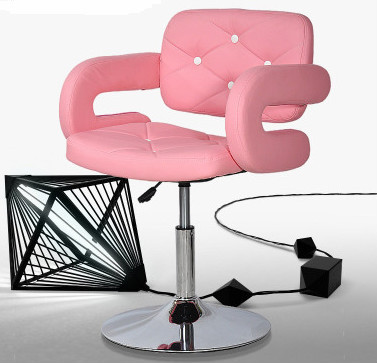 Modern Hair Salon Equipment Salon Pink Furniture Bc076