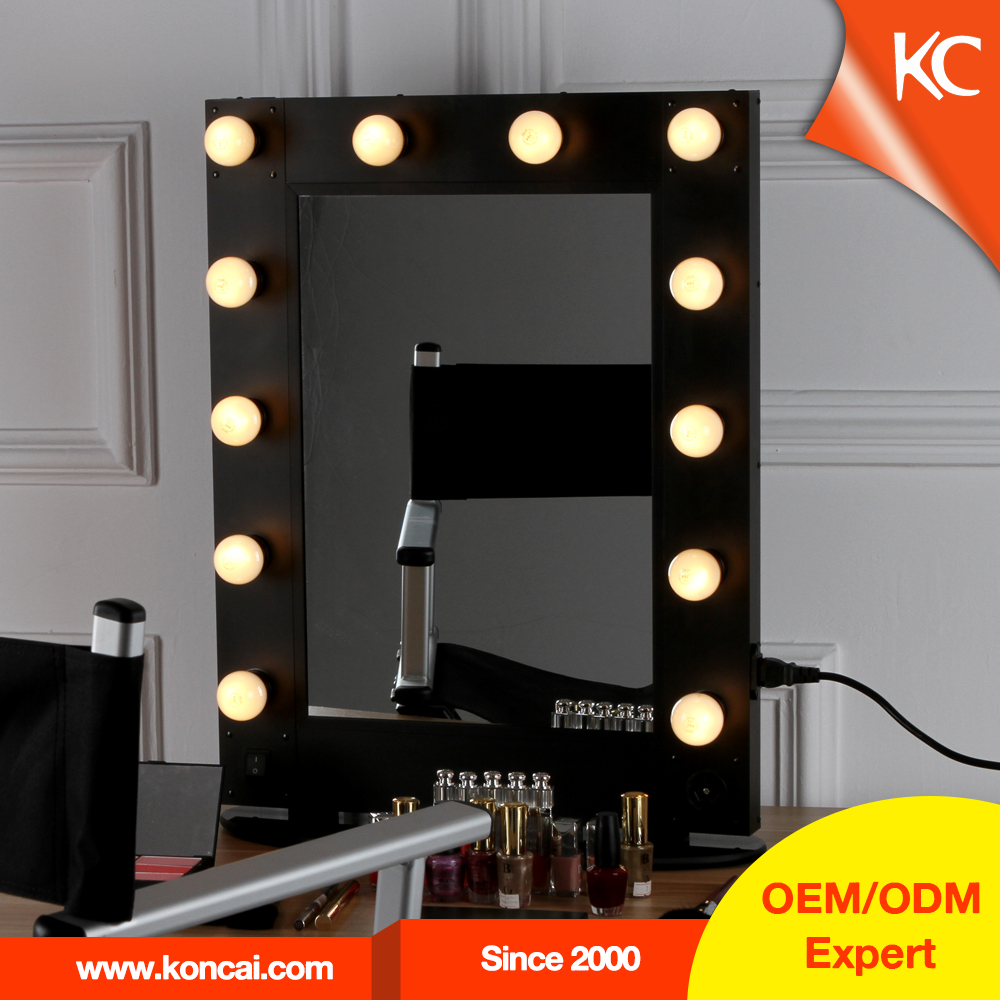 Hollywood style miroir avec led lumi res professionnel for Miroir hollywood