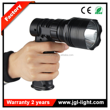 Waterproof torch 10W rechargeable police cree led flashlight JG-T61-LA