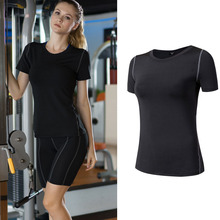 Running Yoga Dance Cheap Workout Lycra Fitness Clothing Yoga Sports T Shirts