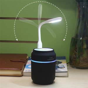 3 in 1 USB Car Humidifier 200ML Air Humidification Mini Portable Home Office Use Can Humidifier With Night Light