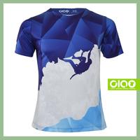 Ciao Value quality sublimation slub cotton t-shirt for distributor